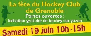 La fête du Hockey Club de Grenoble + initiation, venez !