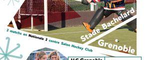 Deux matchs de Hockey sur gazon en N2 pour la première fois à Grenoble ce week-end !