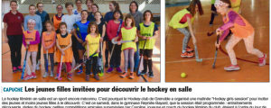 [Revue de presse] La Hockey Girls Session 2018 à l'honneur!